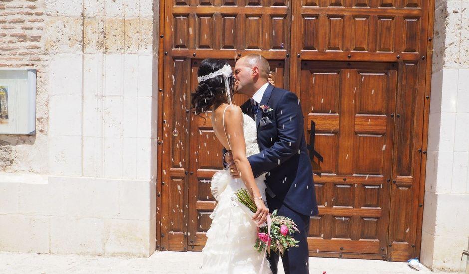 La boda de Jose jaime y  estela en Valdestillas, Valladolid