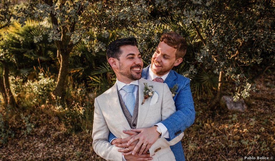 La boda de Matt y Alberto en La Joya Nogales, Málaga