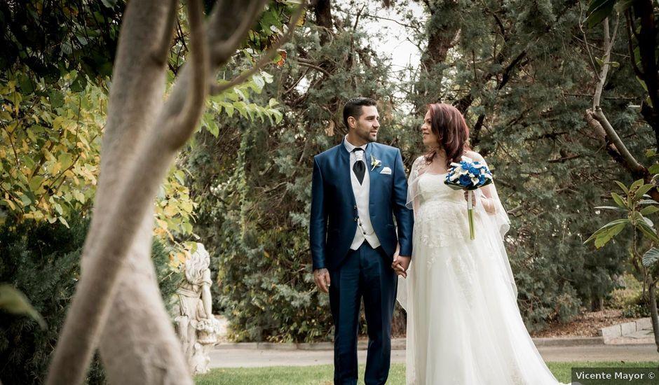 La boda de Miguel Ángel y Laura en Brunete, Madrid