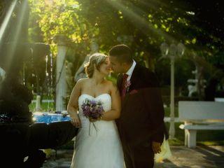 La boda de Nélida y Rubén