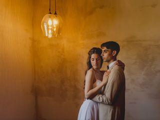 La boda de Ben y Meritxell