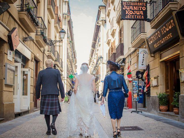 La boda de Xabi y Jane en Donostia-San Sebastián, Guipúzcoa 11