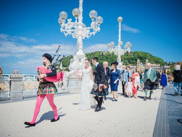 La boda de Xabi y Jane en Donostia-San Sebastián, Guipúzcoa 20