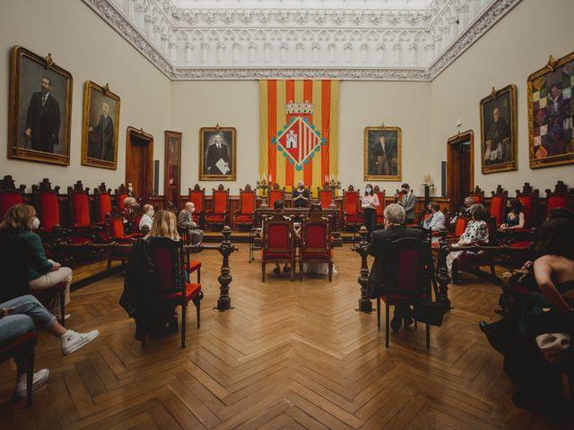 La boda de Meritxell y Ben en Sabadell, Barcelona 2
