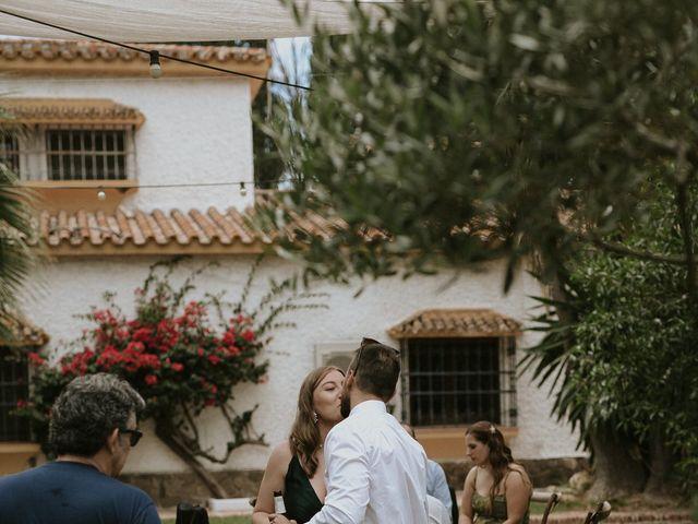 La boda de Audrey y Juan en Estación De Cartama, Málaga 140