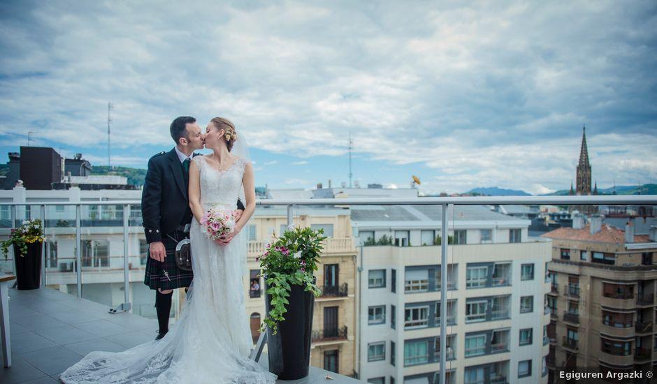 La boda de Xabi y Jane en Donostia-San Sebastián, Guipúzcoa