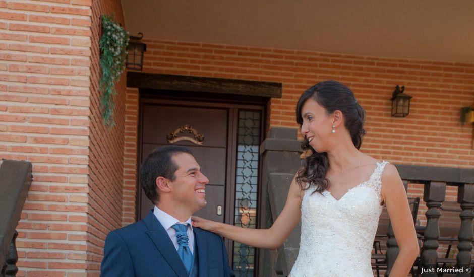 La boda de Óscar y Rocío en Guadalajara, Guadalajara