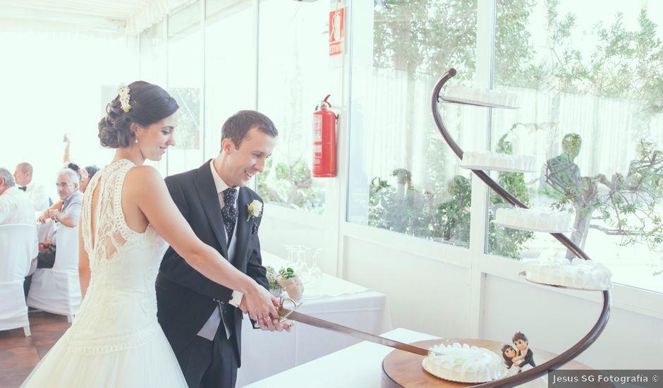 La boda de Borja y Cristina en Aspe, Alicante