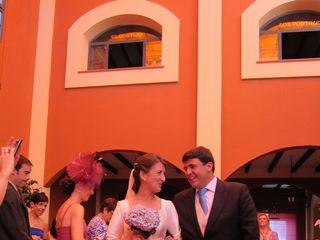 La boda de Adolfo y Elena
