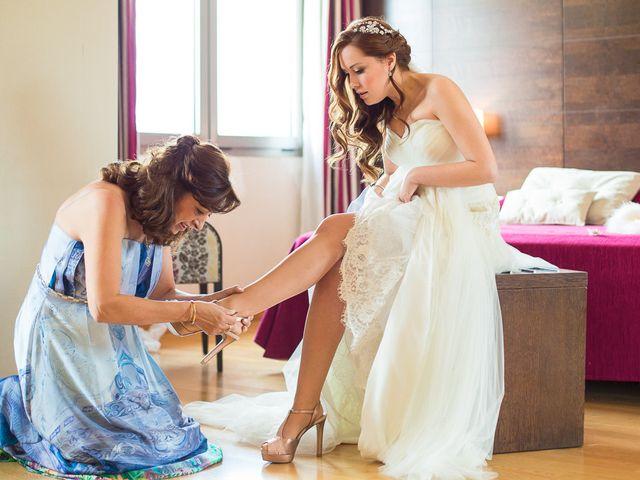 La boda de David y Belen en Guadarrama, Madrid 1
