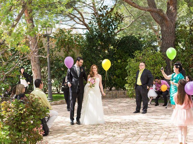 La boda de David y Belen en Guadarrama, Madrid 15