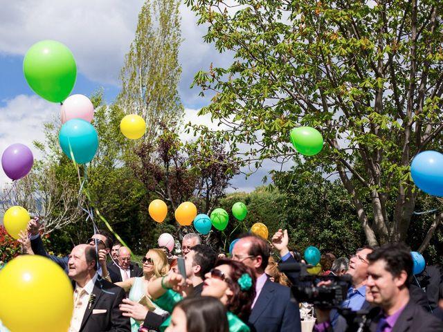La boda de David y Belen en Guadarrama, Madrid 17