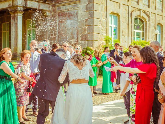 La boda de Héctor y Antía en Mondariz (Balneario), Pontevedra 29