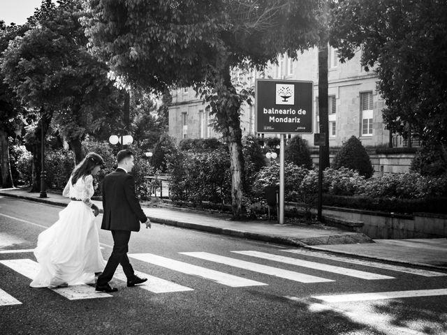 La boda de Héctor y Antía en Mondariz (Balneario), Pontevedra 36
