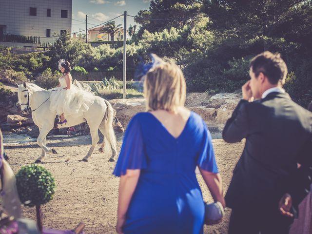 La boda de Alejandro y Sonia en L' Ametlla De Mar, Tarragona 26