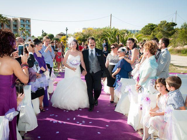 La boda de Alejandro y Sonia en L' Ametlla De Mar, Tarragona 28