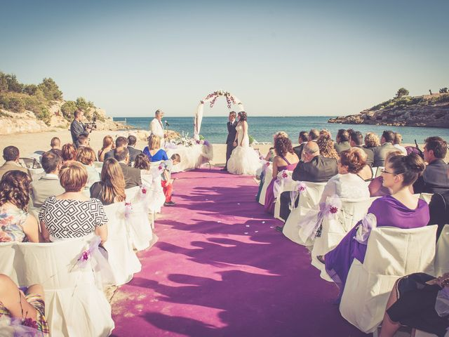 La boda de Alejandro y Sonia en L' Ametlla De Mar, Tarragona 30