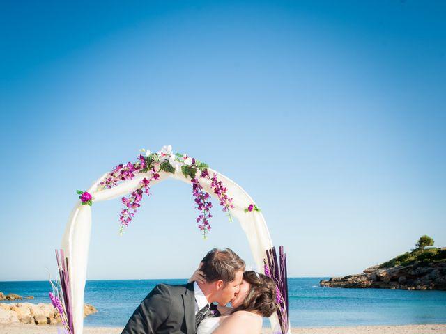 La boda de Alejandro y Sonia en L' Ametlla De Mar, Tarragona 31
