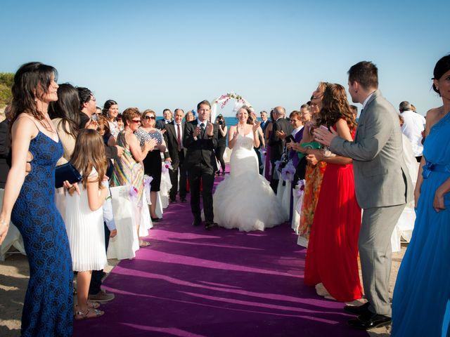La boda de Alejandro y Sonia en L' Ametlla De Mar, Tarragona 32