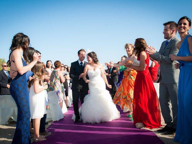 La boda de Alejandro y Sonia en L' Ametlla De Mar, Tarragona 33