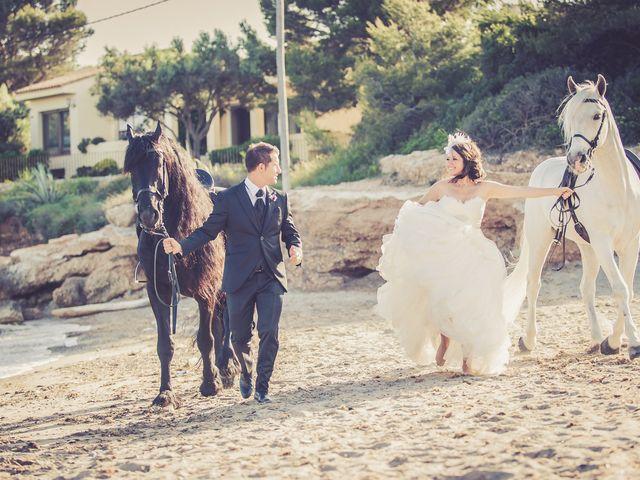 La boda de Alejandro y Sonia en L' Ametlla De Mar, Tarragona 36