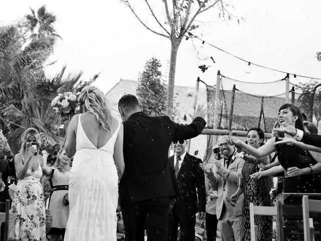 La boda de David y Mireia en La Bisbal Del Penedes, Tarragona 33