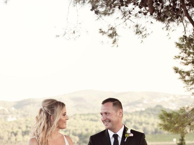 La boda de David y Mireia en La Bisbal Del Penedes, Tarragona 36