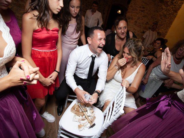 La boda de David y Mireia en La Bisbal Del Penedes, Tarragona 78