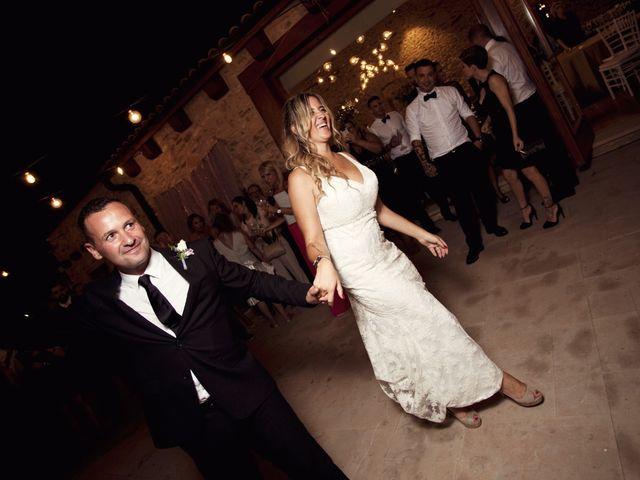 La boda de David y Mireia en La Bisbal Del Penedes, Tarragona 86
