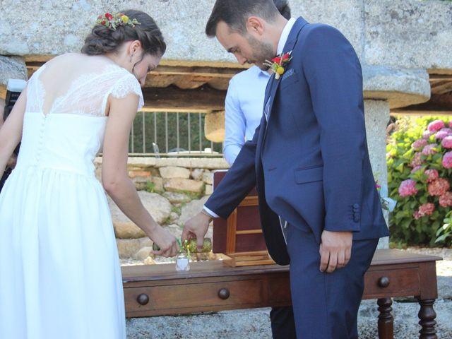 La boda de Alberto y Fátima en Vilaboa (Graña), Pontevedra 1