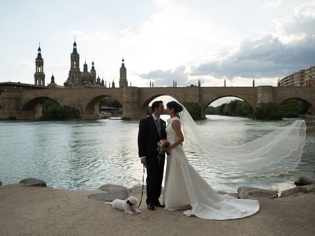La boda de Goyo y Mª Ángeles en Zaragoza, Zaragoza 1