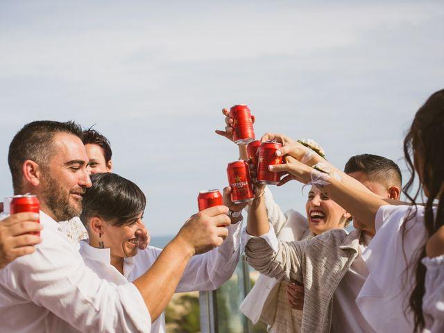 La boda de Yoly y Vane en L' Ametlla De Mar, Tarragona 1