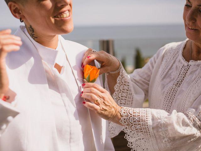 La boda de Yoly y Vane en L' Ametlla De Mar, Tarragona 10