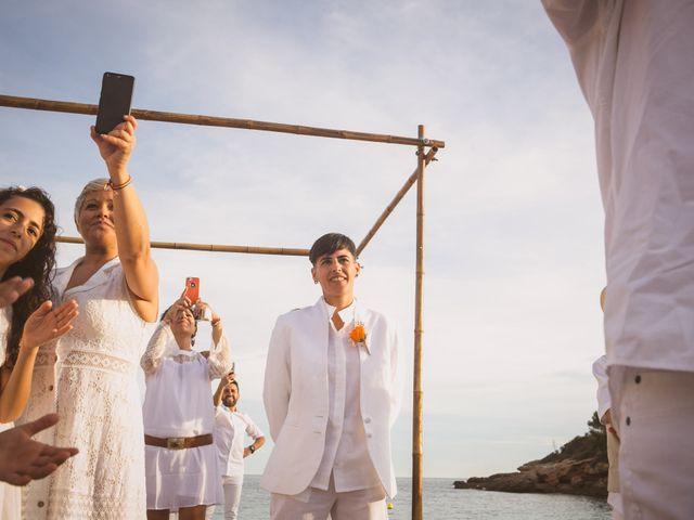 La boda de Yoly y Vane en L' Ametlla De Mar, Tarragona 35