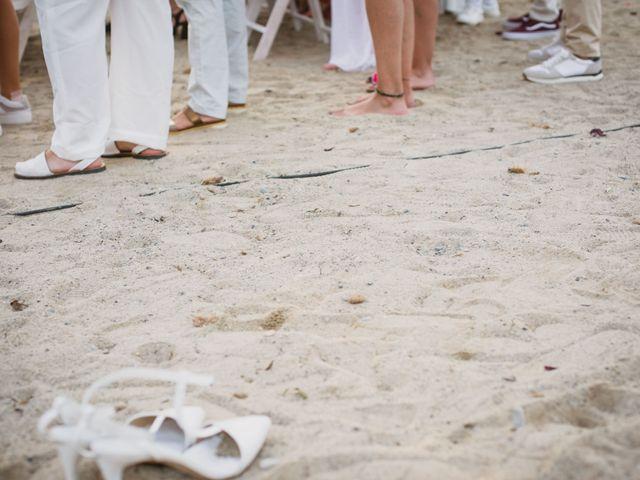 La boda de Yoly y Vane en L' Ametlla De Mar, Tarragona 41
