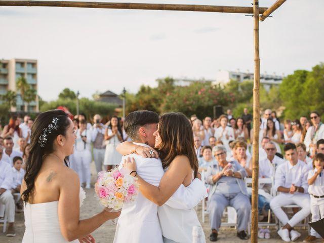 La boda de Yoly y Vane en L' Ametlla De Mar, Tarragona 42