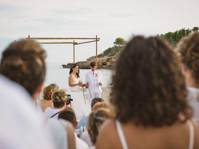 La boda de Yoly y Vane en L' Ametlla De Mar, Tarragona 44