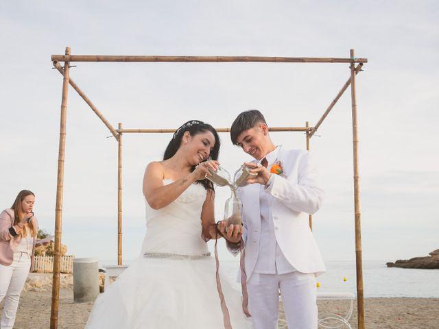 La boda de Yoly y Vane en L' Ametlla De Mar, Tarragona 45