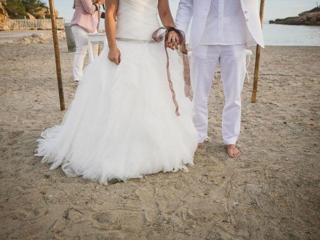 La boda de Yoly y Vane en L' Ametlla De Mar, Tarragona 46