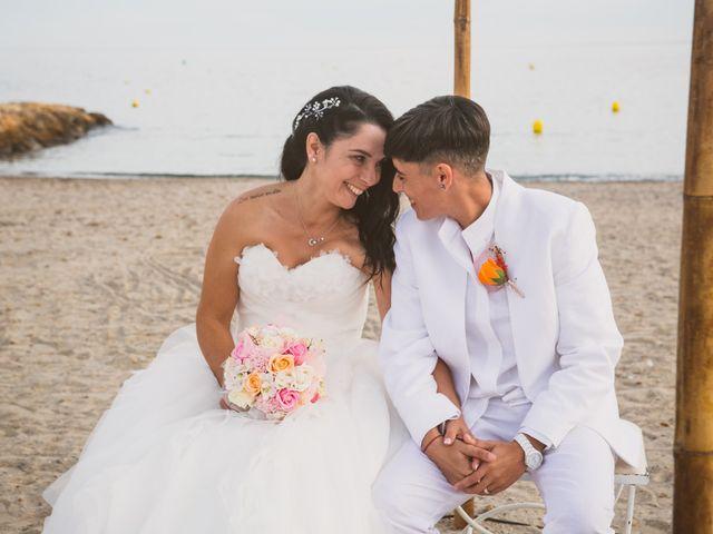 La boda de Yoly y Vane en L' Ametlla De Mar, Tarragona 48