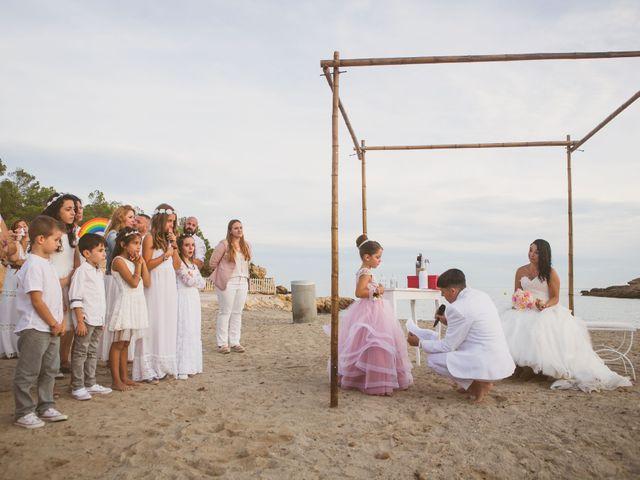 La boda de Yoly y Vane en L' Ametlla De Mar, Tarragona 50