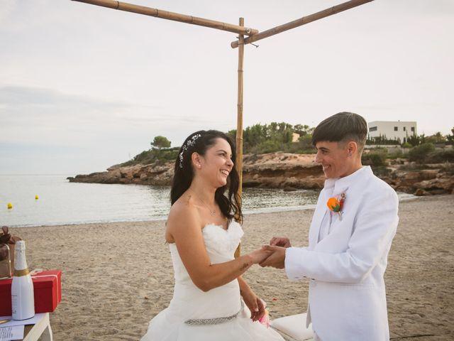 La boda de Yoly y Vane en L' Ametlla De Mar, Tarragona 52