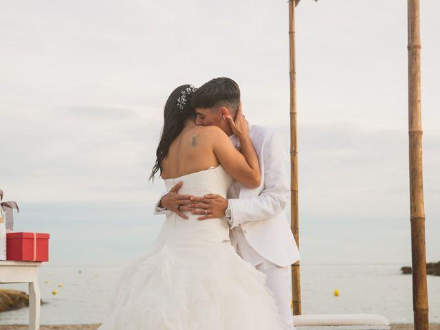 La boda de Yoly y Vane en L' Ametlla De Mar, Tarragona 2