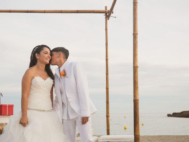 La boda de Yoly y Vane en L' Ametlla De Mar, Tarragona 54