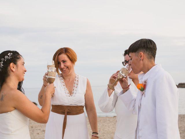 La boda de Yoly y Vane en L' Ametlla De Mar, Tarragona 56