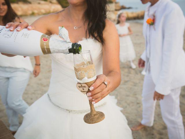 La boda de Yoly y Vane en L' Ametlla De Mar, Tarragona 57
