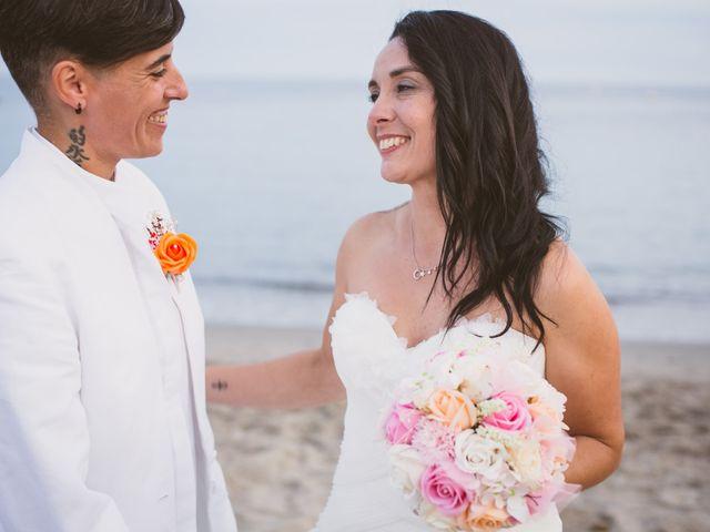 La boda de Yoly y Vane en L' Ametlla De Mar, Tarragona 59