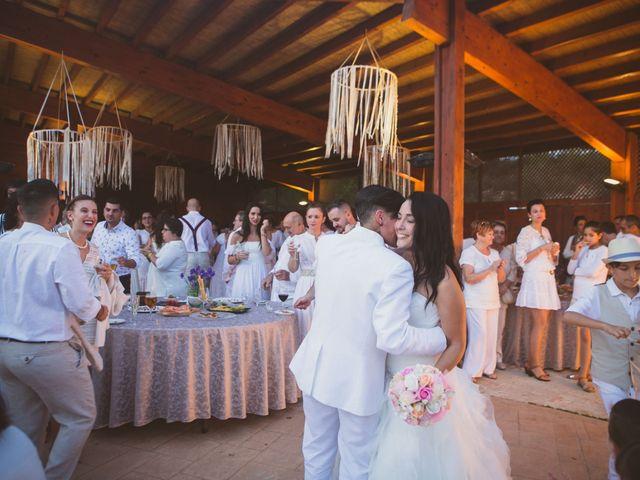 La boda de Yoly y Vane en L' Ametlla De Mar, Tarragona 61