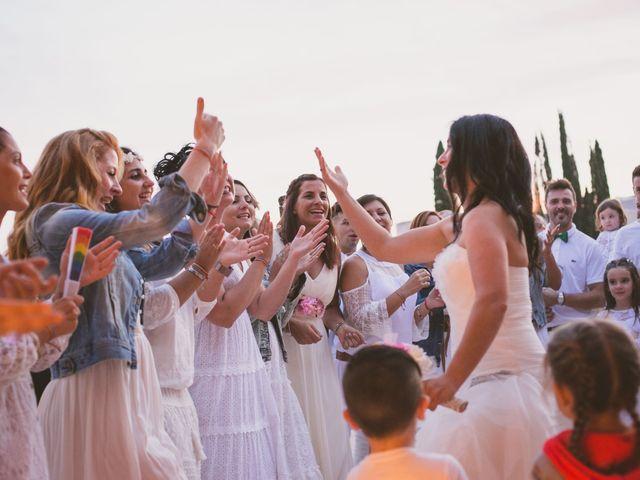 La boda de Yoly y Vane en L' Ametlla De Mar, Tarragona 62