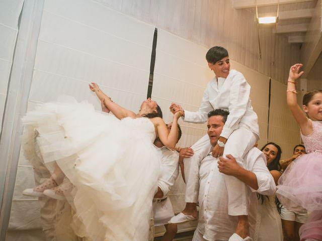 La boda de Yoly y Vane en L' Ametlla De Mar, Tarragona 72